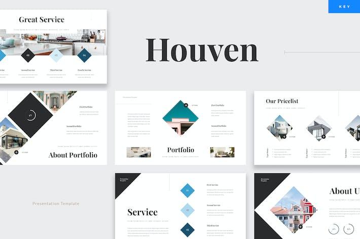 Houven - Real Estate Keynote Template