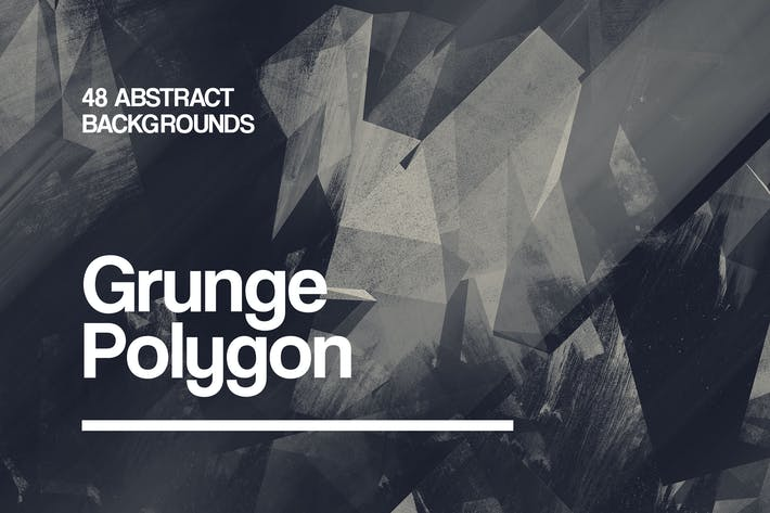 Thumbnail for Grunge Polygon | Backgrounds