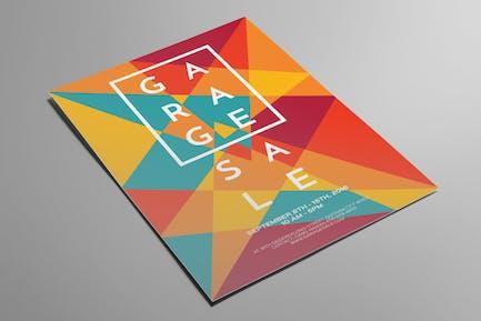 Artsy Garage Sale Flyer