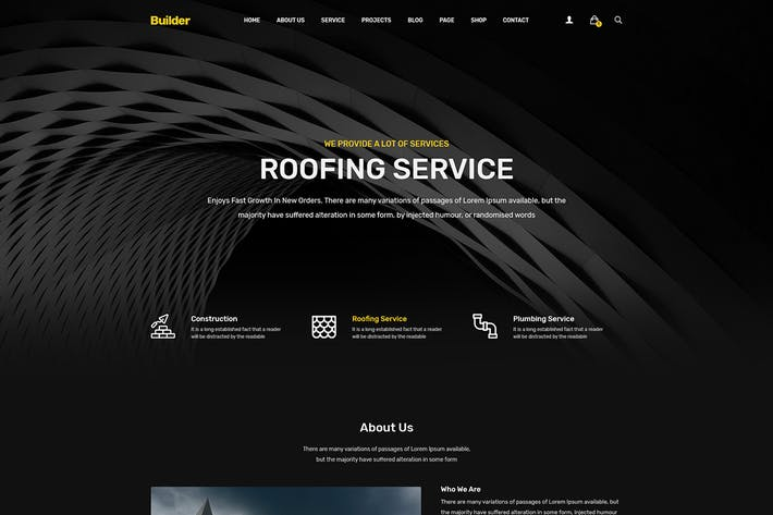 Thumbnail for Standell | Multipurpose Construction HTML Template