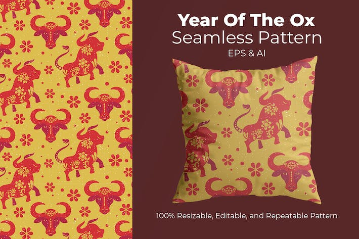 Year Of The Ox Vol3 - pattern