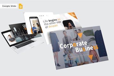 CORPORATE BUSINESS  - Google Slide V381