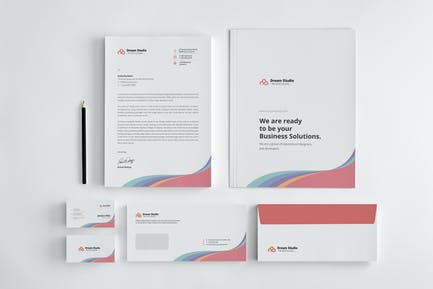 Corporate Stationery Set
