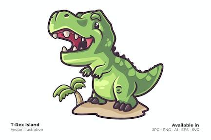 T-Rex Insel
