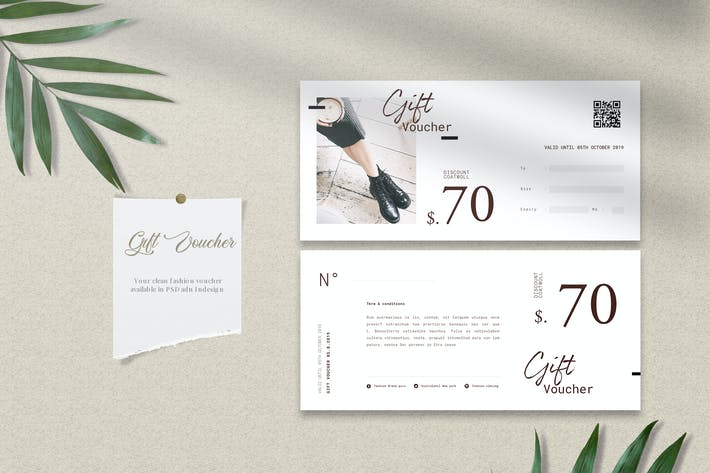 Cover Image For Fashion Gift Voucher