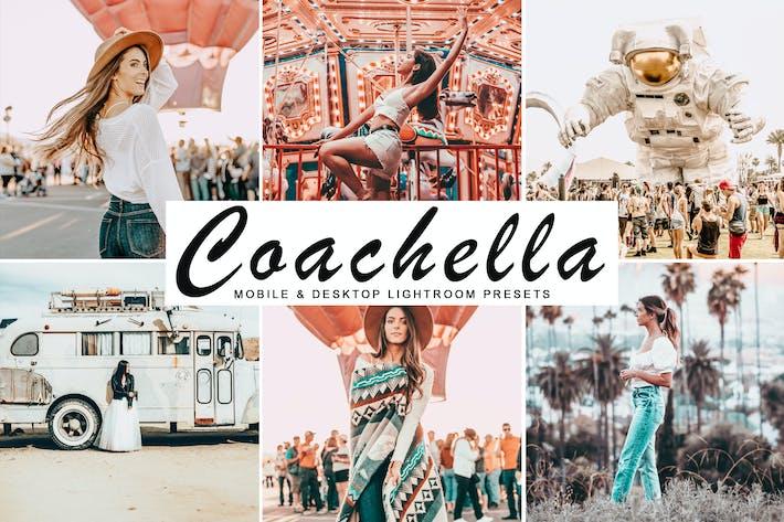 Thumbnail for Coachella Mobile & Desktop Lightroom Presets