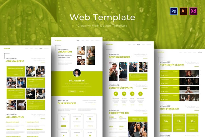 Thumbnail for Antlatian Web Template