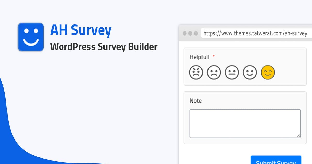 Download WordPress Survey Builder With Questions Types by Tatwerat-Team