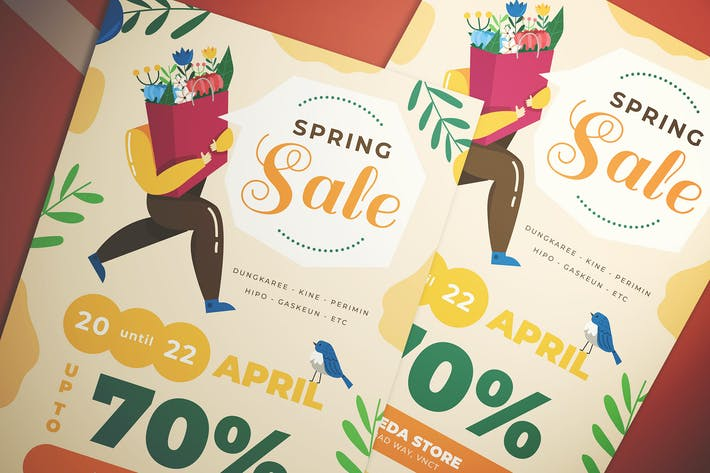 Thumbnail for Spring Big Sale Flyer