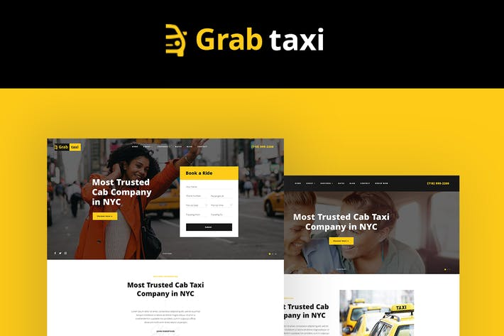 Cover Image For Grab Taxi