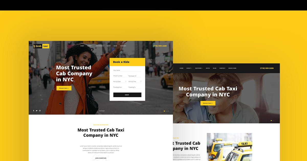Download Grab Taxi by axiomthemes