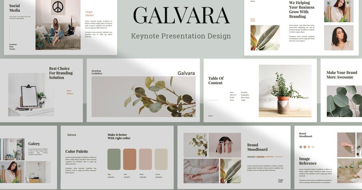 Download Galvara - Keynote Template by sudutlancip