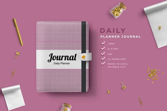 Thumbnail for Kyra -  Work Daily Planner Journal