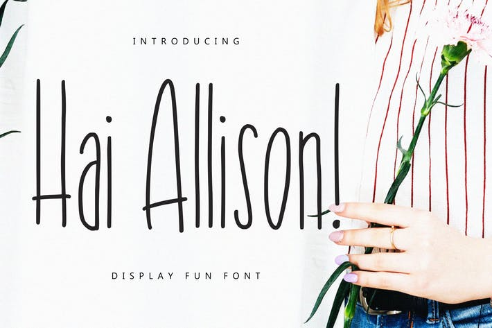 Thumbnail for Hai Allison Fun Display Font