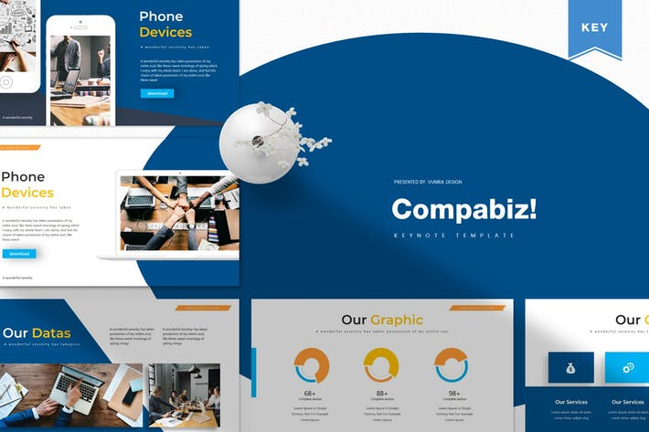 Thumbnail for Compabiz | Keynote Template