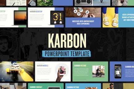 Karbon — Powerpoint Presentation Template
