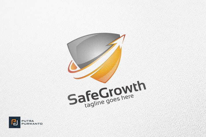 Thumbnail for Safe Growth - Logo Template