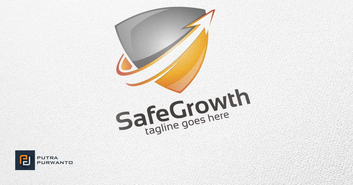 Safe Growth - Logo Template by putra_purwanto