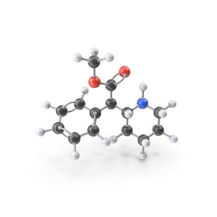 Molécula de metilfenidato