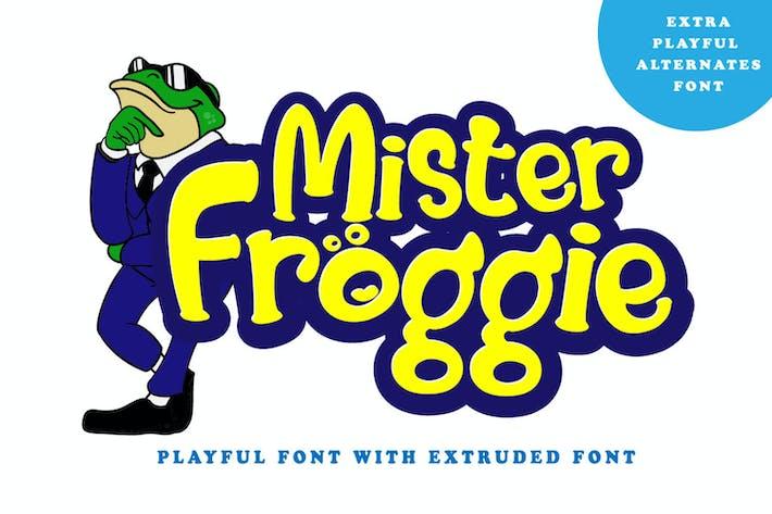 Thumbnail for Mister Froggie - Fuente de visualización