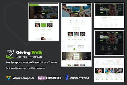 GivingWalk – Multipurpose Nonprofit WP Theme
