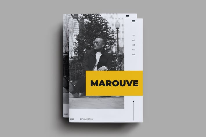 Thumbnail for Marouve Brochure Template
