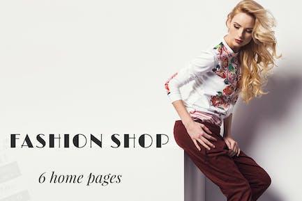 Creative Super Shopping Fashion Template