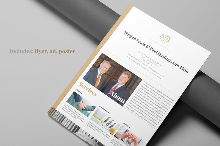 Thumbnail for Law Firm Flyer package