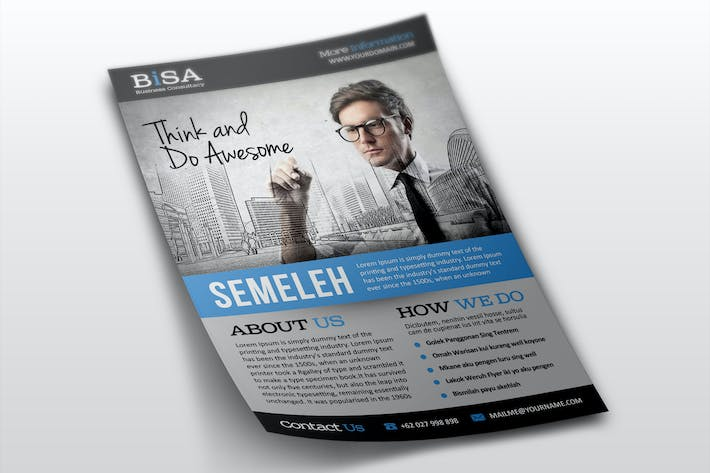 Thumbnail for Bisa Business Flyer Templates