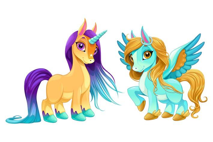 Thumbnail for Baby Einhorn und Pegasus