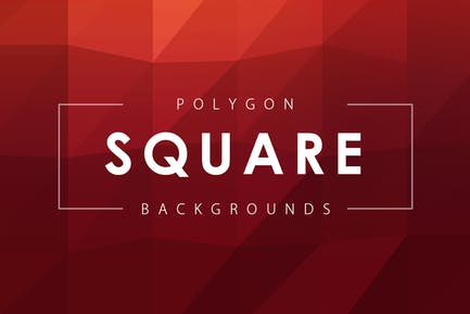 Square Polygon Backgrounds