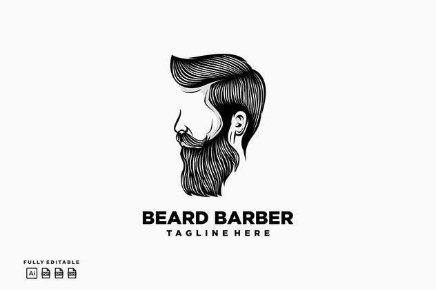Bear Barber Logo