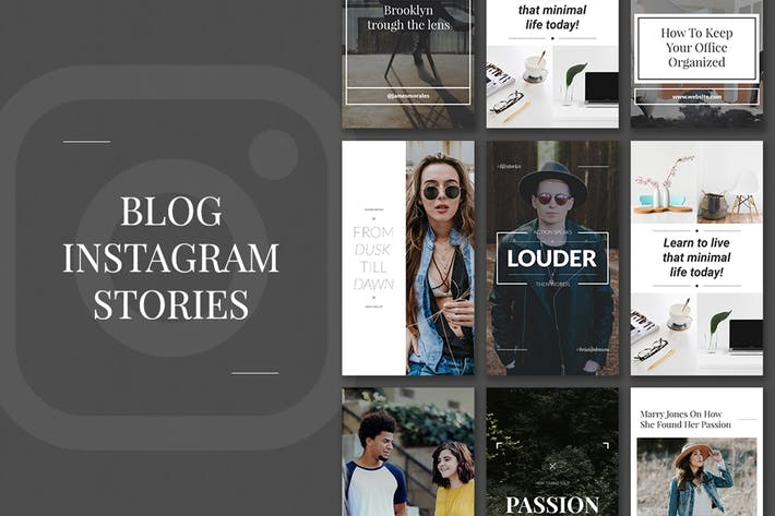 Thumbnail for Blog Instagram Stories