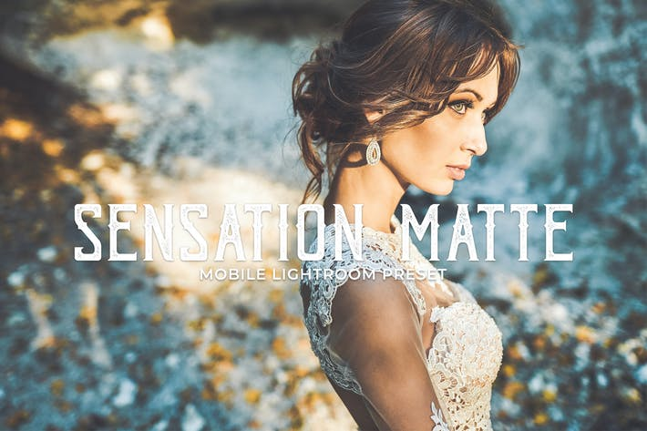 Thumbnail for Sensation Matte Mobile Lightroom Presets