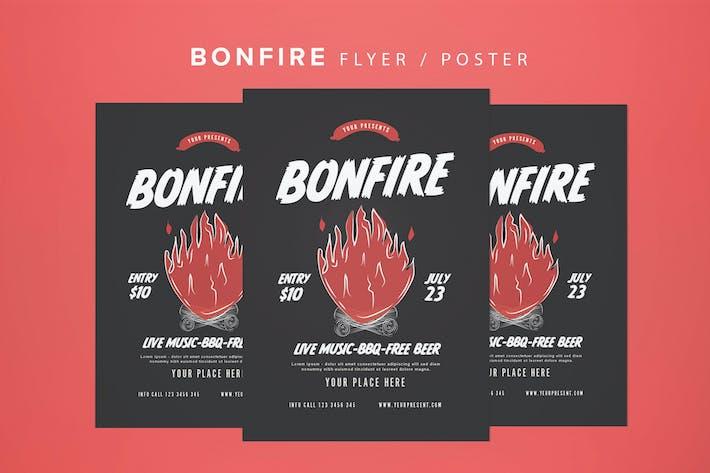 Thumbnail for Bonfire Flyer