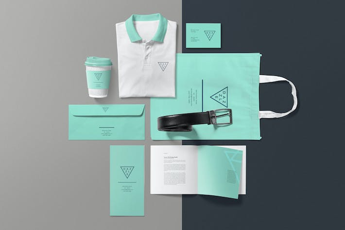 Cover Image For Corporate Branding Mockup Scenes