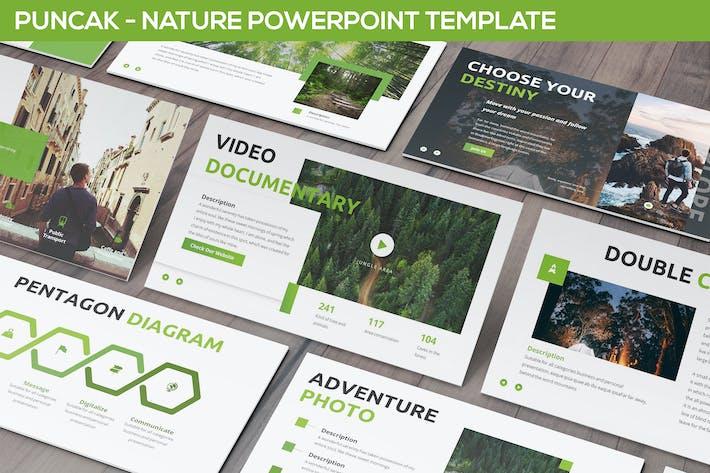 Thumbnail for Puncak - Nature Powerpoint Template