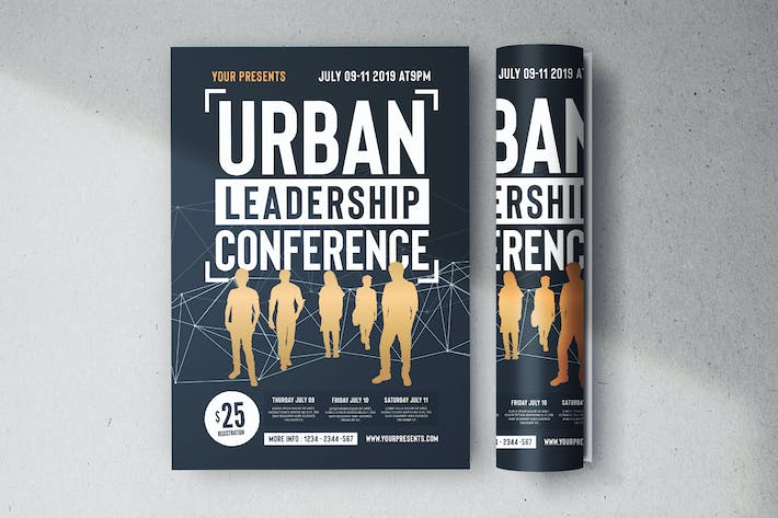 Thumbnail for Urban Leadership Conference Flyer