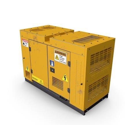 Power Generator Yellow Used