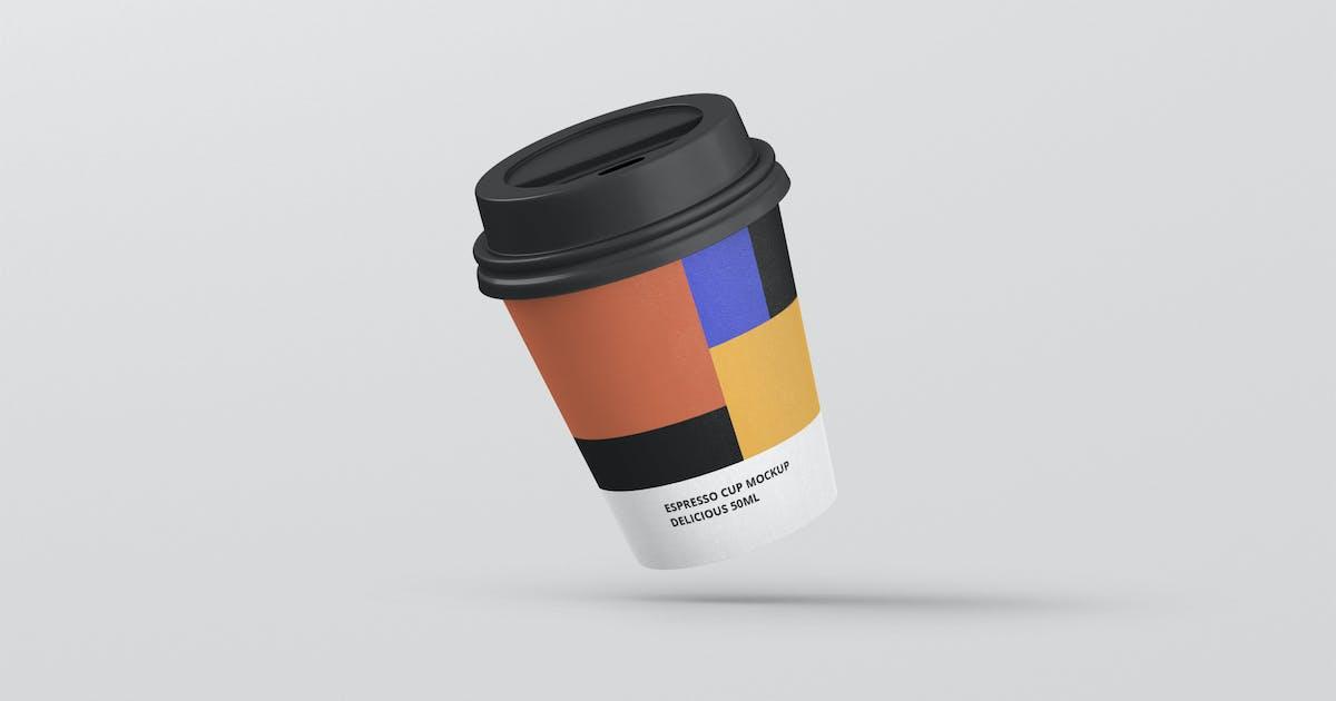 Download Espresso Coffee Cup Mockup by visconbiz