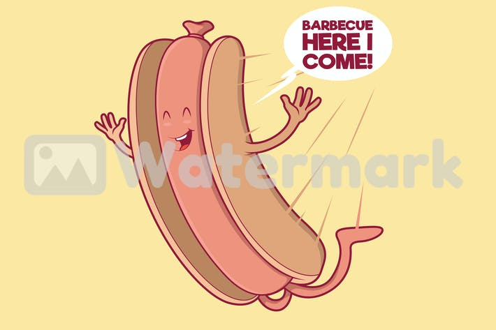 Hot Dog fallen