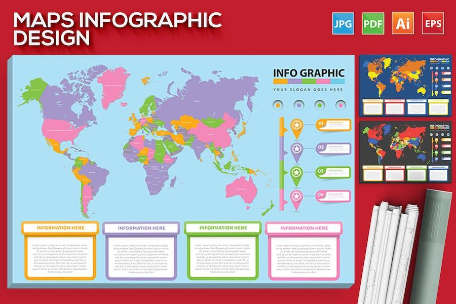 Maps Infographic