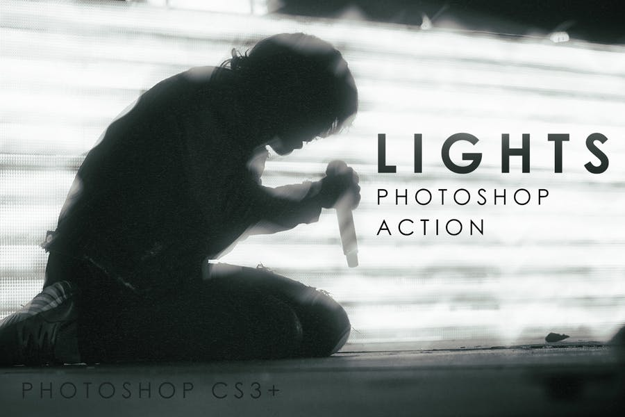 Lights Photoshop Action