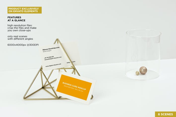 Download 443 scene templates envato elements thumbnail for business cards gold scene ccuart Images