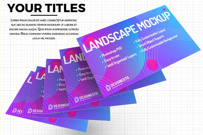 Thumbnail for Website – Creative Mockup Template