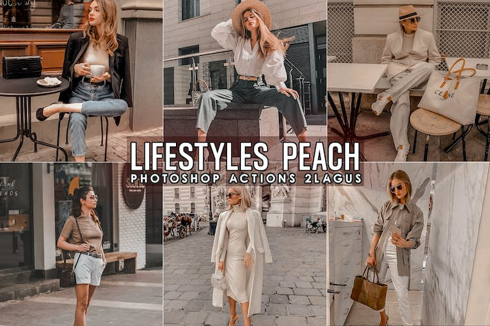 Thumbnail for Lifestyles Peach Photoshop Actions
