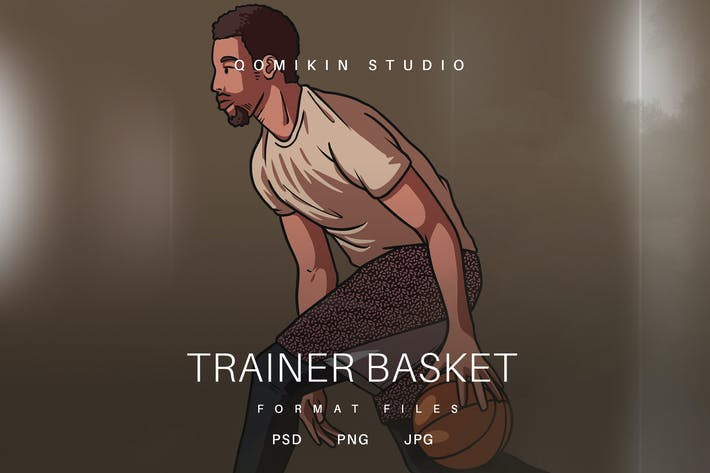 Thumbnail for Trainer Basket Illustration