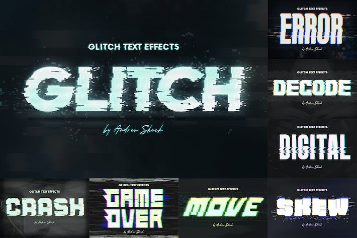 Thumbnail for Effets de texte ou de Logo Glitch