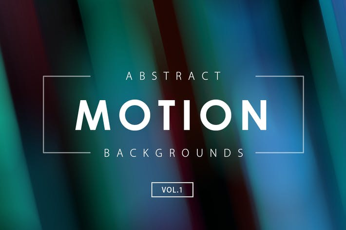 Cover Image For 30 Motion Backgrounds Vol. 1