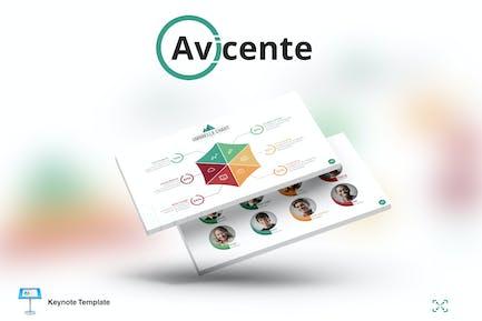 Avicente - Keynote Template